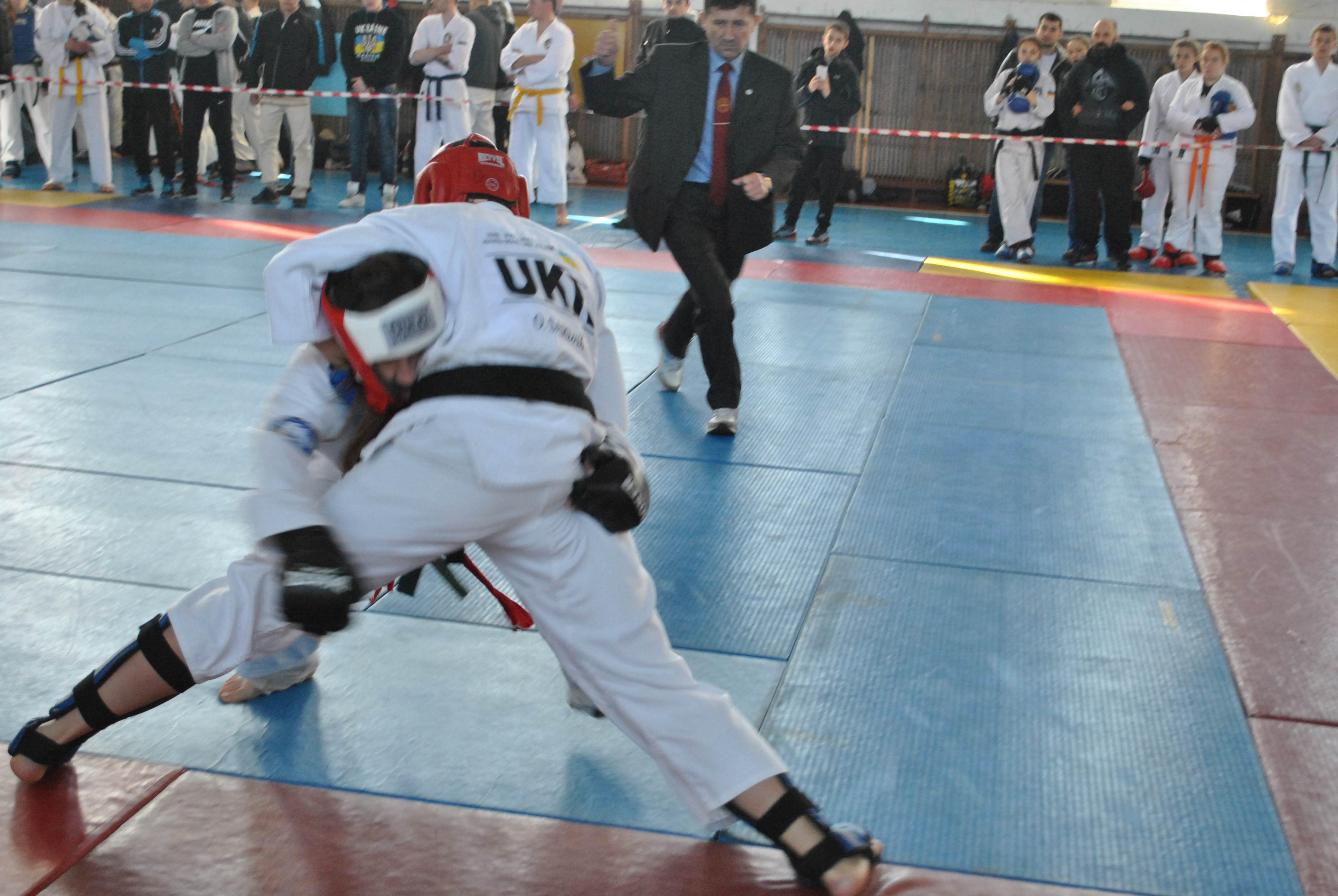 Соревнования по рукопашному бою