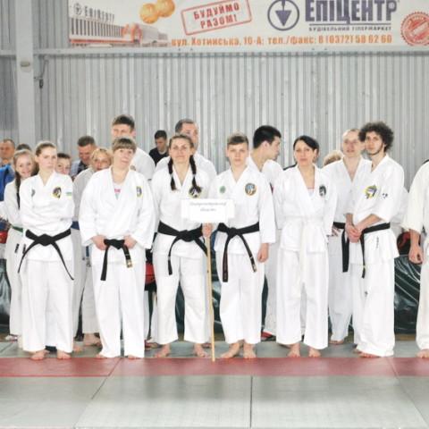 Команда Днепропетровской областной федерации рукопашного боя на Чемпионате Украины 2016 2016