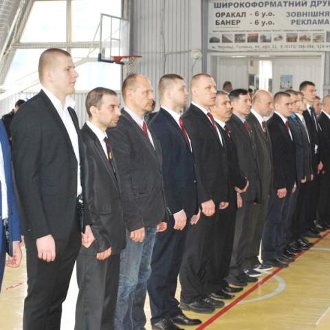 Судейский корпус на Чемпионате Украины по рукопашному бою 2016