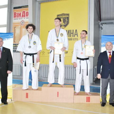 Чемпионат Украины по рукопашному бою 2016 - награждение спортсменов