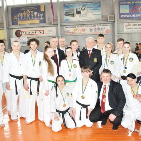 Спортсмены Днепропетровской областной федерации рукопашного боя на Чемпионате Украины по рукопашному бою 2016