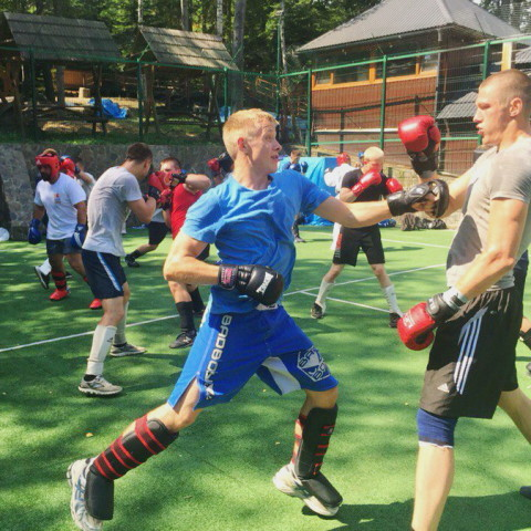 Федерация рукопашного боя Днепра. Учебно-тренировочные сборы по рукопашному бою - июль 2016г.