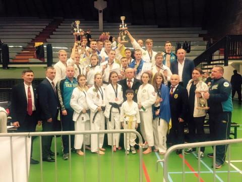 Сборная Украины по рукопашному бою. Чемпионат Европы по рукопашному бою 2016.