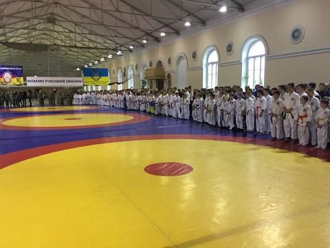 Всеукраинский турнир по рукопашному бою среди юношей, посвящённый памяти воинов, погибших АТО.