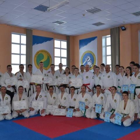 Днепропетровская обласная федерация рукопашного боя.Квалификационный семинар по рукопашному бою.