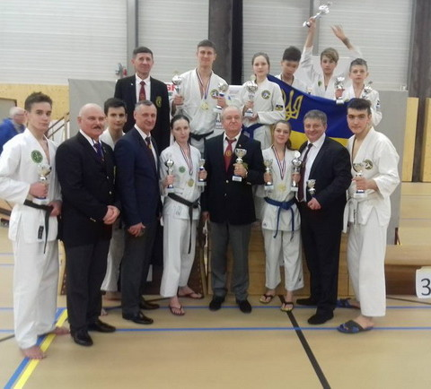Международной турнир IBF по рукопашному бою в Нидерландах, 2017 год.