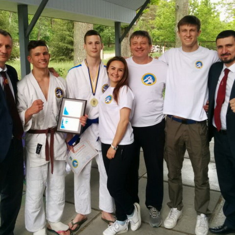 Днепропетровская областная федерация рукопашного боя.