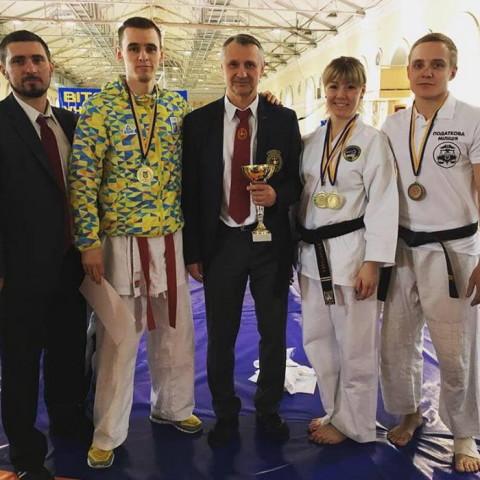 19 Чемпионат Украины по рукопашному бою среди взрослых