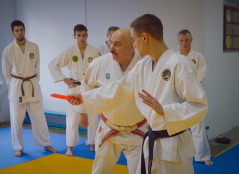 Мастерская аттестация по рукопашному бою - Днепр 2019.